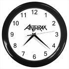 Anthrax Band American Heavy Metal band #D01 Wall Clock