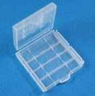 1pcs Hard Plastic Box Holder Storage Box Cover Rechargeable AA AAA Cell Trim