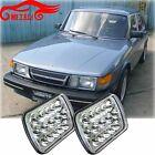 "7X6"" LED HID Cree Light Bulbs Clear Sealed Beam Headlamp Headlight"