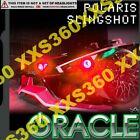ORACLE Polaris Slingshot 15-16 RED LED Head/Foglight RINGS Halo Kit WATERPROOF