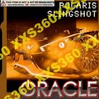 ORACLE Polaris Slingshot 15-16 AMBER LED Head/Foglight RINGS Halo Kit WATERPROOF