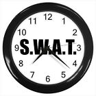 SWAT Special Weapons And Tactics Military #D01 Wall Clock