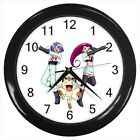 Team Rocket Pokemon Pikachu Anime Game #D01 Wall Clock