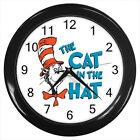 The Cat in the Hat Book cartooon Film #D01 Wall Clock