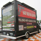 2006 Ford E-Series Van Truck. Cutaway 2006 Ford E350 Truck Mobile Advertising Billboard Sign Box Truck