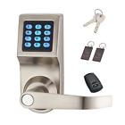 HAIFUAN Digital Door Lock,Unlock with Remote Control, M1 Card, Code and Key,Hand