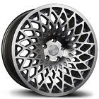 Avid1 AV60 18x8.5 +35 5x114.3 Silver Civic TSX RSX CRZ XB Lancer Mazda3 Accord