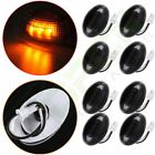 4Pair Smoked Lens Side Marker Clearance Light for 99-10 Ford Truck Waterproof