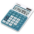 Casio MS-20NC-BU Basic Calculator LARGE DISPLAY Tax Calculations MS20NC Blue