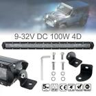 20 Inch 100W LED Light Bar Offroad Work Lamp Spot Flood Combo 4WD SUV Boat Truck