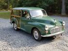 1963 Other Makes G80  1963 morris traveller