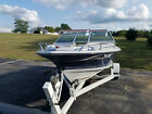 1984 FOUR WINNS 170 HORIZON POWERBOAT WITH TRAILER AND BOAT COVER