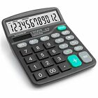 Calculator, Basic 12-Digits,Large Screen, Durable Silicone Button, Office/home