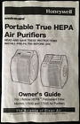 Honeywell Portable True HEPA Air Purifier 17000 and 17005 Owner's Guide
