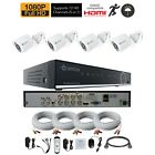 Camius Full HD 1080P 5-in-1 8CH DVR with 2TB, 4* 2MP Outdoor Security Camera