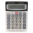Sentry CA272 Mini Desktop Calculator 12 digit display Solar & battery