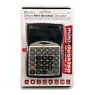 Sentry CA275 Solar & battery Tilt Display 12 digit  Mini Desktop Calculator