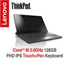 ThinkPad Helix Gen 2 2.0GHz 128GB FHD IPS Touch Pen Keyboard 2Y Warranty Tablet