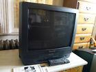 "Panasonic PV-M2059 20"" CRT Television / VHS Play/Record Combo w/ remote & manual"