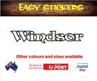 900mm older Windsor Caravan Sticker Decal Vintage Replacement Quality Repair