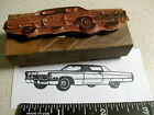 1967-1968 Cadillac Coupe DeVille Car rubber stamp!