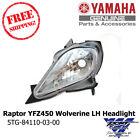 Yamaha OEM Raptor 700 YFZ450 Wolverine Left Headlight LH Side 5TG-84110-03-00