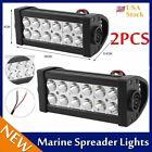 2PCS Durable Marine Spreader Lights Waterproof Mast LED Marine Sprinkler Lamp MX