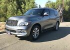 2015 Infiniti QX80 base 2015 QX80 INFINITY BASE MODEL NAVIGATION 360 CAMERA VIEW