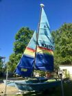 Hobie 16  Catamaran 1984 with outboard motor and trailer