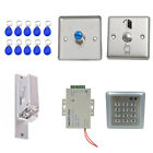 RFID Card Door Access Control System with 125Khz 10 Keyfobs Home Security