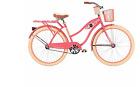 Women's 26 inch Huffy Deluxe Classic Cruiser Bike Cup Holder Basket Rack Outdoor