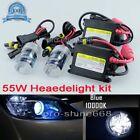 Car 55W H4 9003 Hi-Lo Halogen 10K OEM HID Xenon Replacement Bulbs KIT Set QL