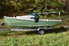 1969 20' O'DAY MARINER SLOOP ON GALVANIZED TRAILER LOCATED IN GUILFORD VT (LILL)