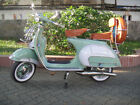 ITALIAN VESPA STANDARD VBB 150cc 1960's  FULLY RESTORED FREE SHIPPING GREEN & WH