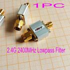 New 2.4G 2400MHz Lowpass Filter / Transmitter Harmonic Suppression SMA Interface