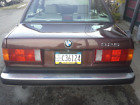 1987 BMW 3-Series 2 dr 1987 325e e30