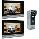 "Home Security Systems AMOCAM 7"" Video Intercom Systems, Aluminum Alloy Acrylic"