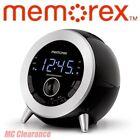 Memorex MC3533 Bluetooth Clock Radio with USB Charging Refurbished