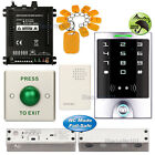 DIY Access Controller Entry Kit + Electric Bolt Glass Door Lock NC Fail Safe