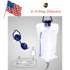 Enema Reusable Colon Enema Bag Cleansing Kit Medical Silicone Cleaner US Selling
