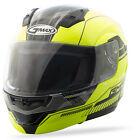 GMAX MD04 BLACK HI VIS Modular Helmet FREE SHIPPING