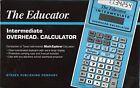 The Educator #204 Intermediate Overhead Calculator Companion to TI Math Explorer