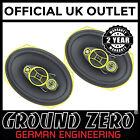 """Ground Zero GZCF-7104XSPL 7"""" x 10"""" 4 Way 600 Watts Coaxial Car Van Speaker"""