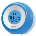 iHome Color Changing FM Dual Alarm Clock Radio + USB Charging 110-240V AC