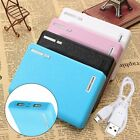 Dual USB 18650 Battery Backup 5V 1-2A Charger Power Bank Case Box for iPhone Sam