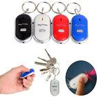 Wireless Anti-Lost Key Finder Locator Keychain Whistle Sound LED Light Torch