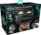 ReTrak Utopia 360° Virtual Reality Headset with Bluetooth Controller ships today