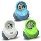 Smart Talking Digital Snooze 12 / 24H Alarm Clock Time/ Temperature/Date Display