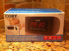 Coby CRA-54 Digital AM/FM Alarm Clock Radio