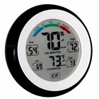 Pro Series High End Humidity Monitor& Temperature Gauge, Easy to Read: Simple /